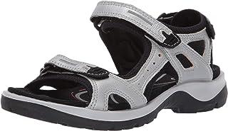 12b4bd70d61d83 Amazon.com  Silver - Sport Sandals   Slides   Athletic  Clothing ...