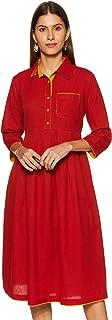 Varanga Cotton a-line Dress