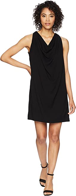 Michael Stars - Rylie Rayon Draped Halter Dress