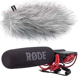 Rode Videomic Rycote richtmicrofoon + Keepdruum WS-WH vacht-windscherm