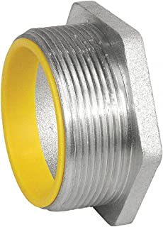 1 Pc, 2 In. Rigid Chase Nipple, Insulated, Die Cast Zinc Used w/Threaded Female Conduit Couplings to Connect 2