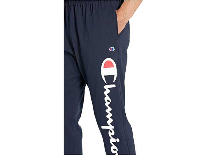 Champion Classic Jersey Graphic Jogger - Y07234 Navy