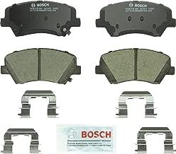 Bosch BC1543 QuietCast Premium Ceramic Disc Brake Pad Set For: Hyundai Elantra, Elantra Coupe, Elantra GT; Kia Forte, Forte5, Forte Koup, Front