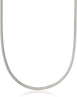 Ross-Simons 3mm Sterling Silver Snake Chain Necklace
