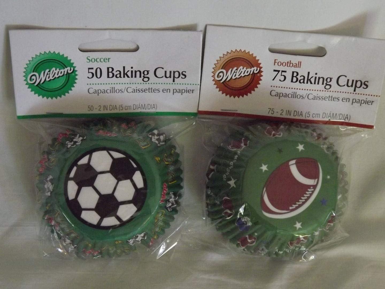 Wilton Soccer Football Baking Cups Mesa Mall Pkgs. Ct. Baltimore Mall - 125 2