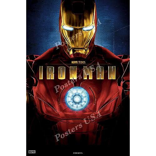 "Iron man Comic Hero Movie 24/"" x 16/"" Large Wall Poster Art Print Decor"