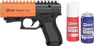 Mace Brand Self Defense Pepper Spray Gun 2.0 – Accurate 20' Powerful Pepper Spray, Leaves UV Dye on Skin, Integrated LED L...