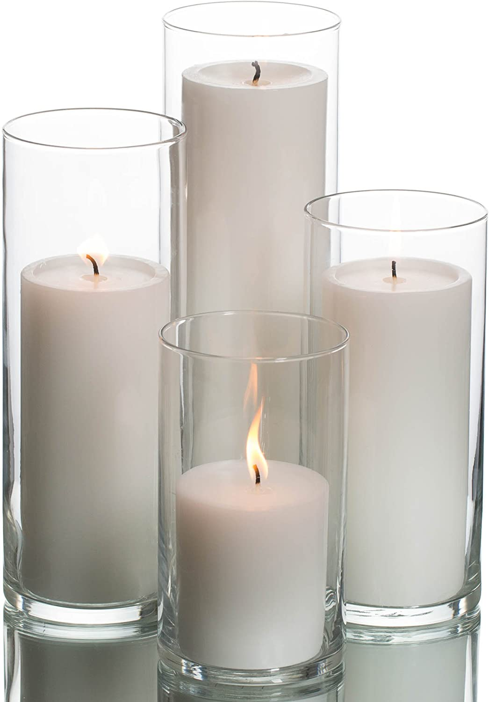 Eastland Cylinder Pillar wholesale Holder Kansas City Mall White Candles Richland