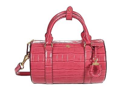 LAUREN Ralph Lauren Zoey 22 Crossbody (Ruby) Handbags