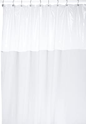 Amazon Com Hookless Vision 71 By 74 Inch Shower Curtain Beige Home Kitchen