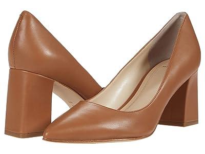 Marc Fisher LTD Zala 15 (Medium Brown Leather) Women
