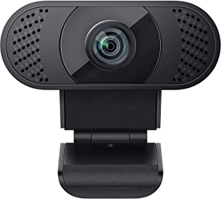wansview Webcam PC with Microphone, 1080P USB 2.0 Web Camera for Laptop, Computer, Desktop, Plug and Play, for Live Stream...