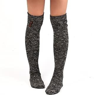 Long Socks,Haoricu Women Socks Warm Over Knee High Boots Long Socks
