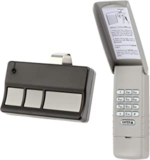 Keypad and Remote for Liftmaster Garage Door Opener (973LM + 977LM) 390mhz RED Learn Button