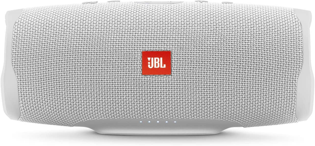 JBL Charge 4 - Waterproof Portable Bluetooth Speaker - White