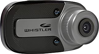 "Whistler D12VR Automotive DVR: Windshield Mount Dash Camera with 1.5"" LCD Monitor, 720p HD,Black"