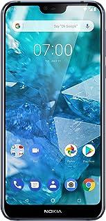 """Nokia 7.1 Smartphone da 32 GB (Espandibile fino a 256 GB), 3 GB di RAM, Dual SIM, Display da 5.84"""" 19:9 Risoluzione Full H..."""