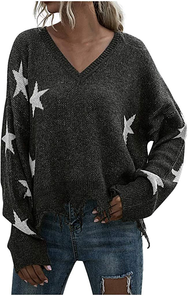 oceanmapsa Fashion Direct sale of manufacturer Surprise price Womens Sweaters O-Neck Sleev Sleeve Long