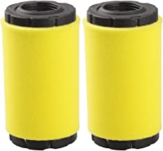 Hipa 793569 Air Filter for Briggs and Stratton 793685 John Deere GY21055 MIU11511 B & S Intek Series 20-21 Gross HP Lawn Mower Tractor (Pack of 2)