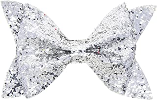 Baby Girls Toddler Multicolored Sequin Bow Hairpin Elastic Hair clips Hair Accessories