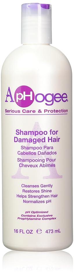 製作ロバ変形APHOGEE SHAMPOO FOR DAMAGED HAIR 473 ml by NA