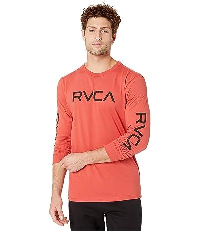 RVCA Big RVCA Long Sleeve (Baked Apple) Men