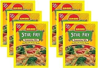 Stir Fry Seasoning Mix Packets - Asian Stir-Fry Recipe - 0.75 Ounces Each (Pack of 6)
