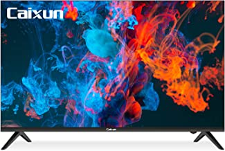 Caixun Android TV 43-Inch Smart LED TV 4K EC43S1UA - Ultra HD Flat Screen Television with HDR10 and Voice Remote - Support...