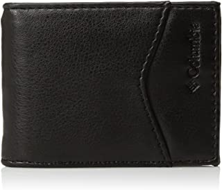 Men's Leather Magnetic Money Clip Minamalist Slim Card Case Wallet