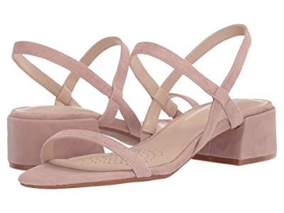 Kenneth Cole New York Maisie Low Simple (Dusty Rose Suede) Women
