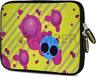 Amzer 7.75-Inch Designer Neoprene Sleeve Case Cover Pouch for Tablet, eBook and Netbook - Eyes On Trend (AMZ5184077)