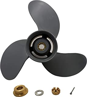 Aluminum 3 Blade Prop Propeller(with All Kits) for Honda 8-20HP BF8/9.9/15/20HP