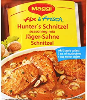 Maggi Hunter Mix, Jager Schnitzel 1.05 Oz (Pack of 6)