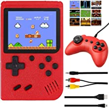 Handheld Game Console, Retro Mini Game Player with 400 Classical Games, 3 inch Screen Video Games Console Support for Conn...