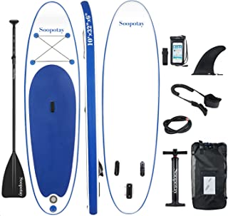 Inflatable SUP Stand Up Paddle Board, Inflatable SUP Board, iSUP Package with All Accessories