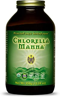 HealthForce SuperFoods Chlorella Manna - 350 Grams - Freshwater Algae Supplement - Supports Cellular Repair, Immune Functi...