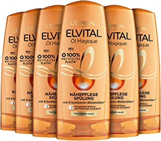 L'Oréal Paris Elvital Magique Nourishing Conditioner Oil Pack of 6 x 250 ml