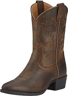 Ariat - Chaussures Unisexes Enfant Heritage R Toe Western Western