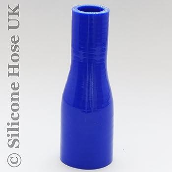 80/mm  60/mm/ /ID /rosso Dritto rinforzato con silicone riduttore ingresso connettore tubo per aria o acqua/