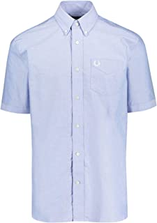 Men's Relaxed Fit Classic Oxford Shirt M6601 146 Blue
