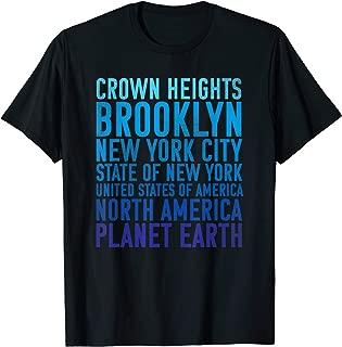 Crown Heights Shirt Brooklyn New York Planet Earth T Shirt