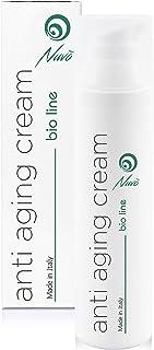 Nuvo Crema Antiarrugas de Baba de Caracol Facial Hidratante y Antiedad - Orgánica Certificada AIAB - Maxi 75ml Acido Hial...