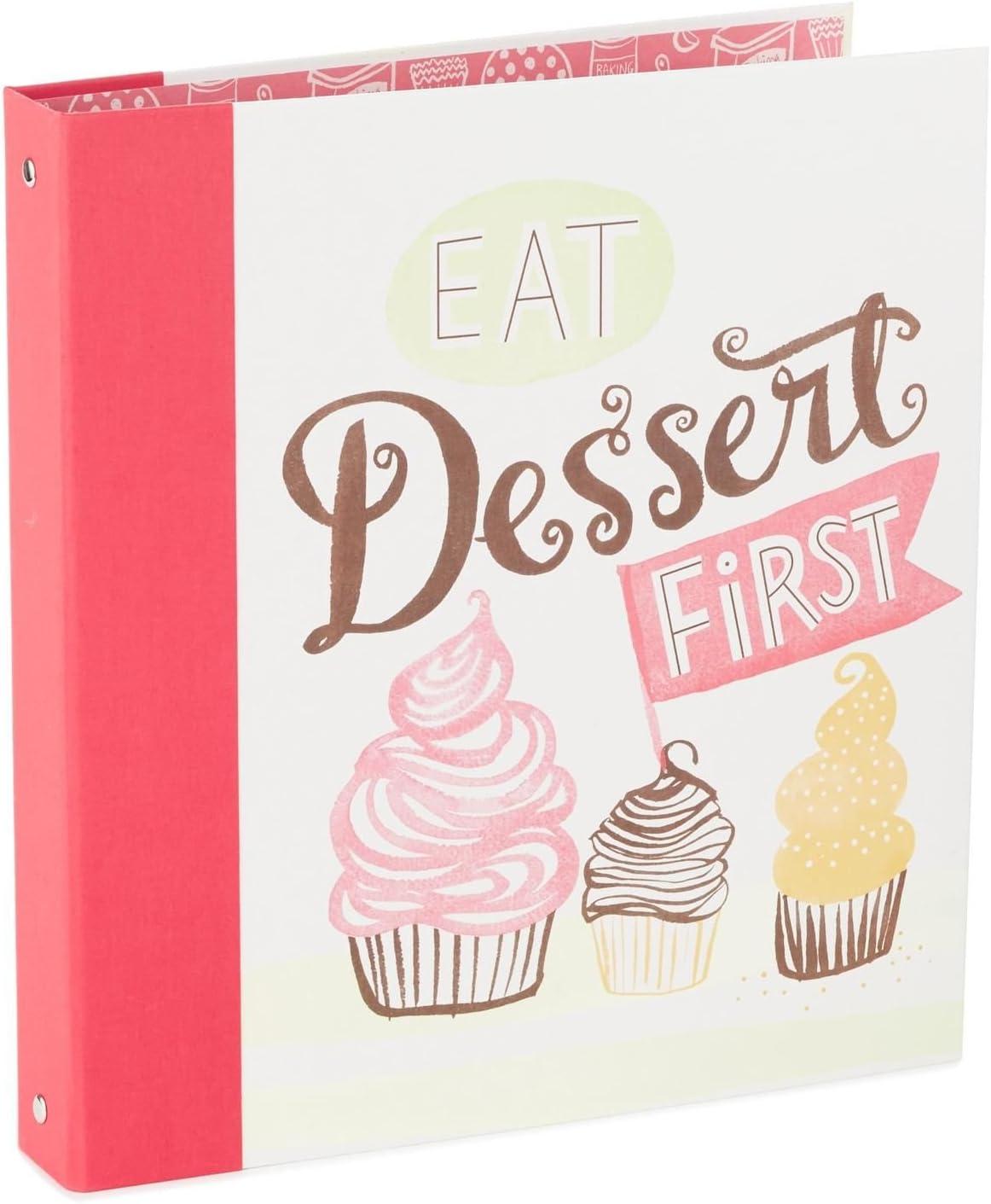 Hallmark Eat Dessert Inventory cleanup selling sale First Recipe Organizer Super intense SALE