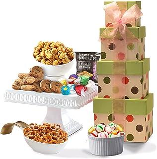 Broadway Basketeers Gourmet Gift Tower - Gift Basket