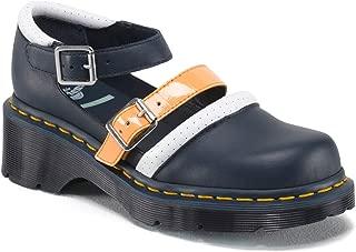 Dr. Martens Limited Edition Aggy Agyness Deyn Strap Shoes Blue US 9 EU 41 UK 7