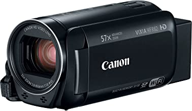 Canon VIXIA HF R82 Full HD Camcorder with 57x Advanced Zoom, 1080P Video, Built-In Wi-Fi/NFC, 3in Touchscreen and DIGIC DV 4 Image Processor - Black (Renewed)