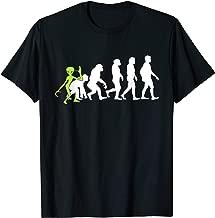 ALIENATIONS: Human Evolution Alien Graphic T-Shirt