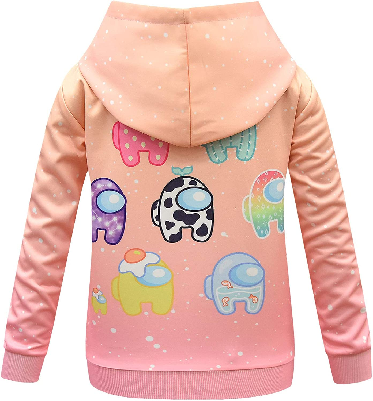 Ciafer Cute Cartoon Hoodies for Girls Fashion Sweatshirt Teens Long Sleeve Pullover