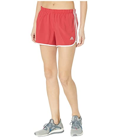 adidas M20 4 Shorts (Glory Red/White) Women