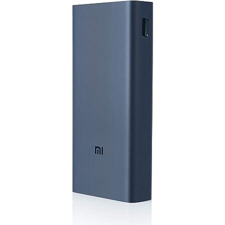 Mi Power Bank 3i 20000mAh | 18W Fast PD Charging | Input- Type C and Micro USB| Triple Output | Sandstone Black